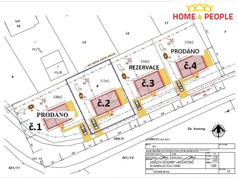 Novostavba na klíč typu Klára 5+kk, 93 m2 s pozemkem (č.2) 510 m2 v obci Lhotsko u Vizovic